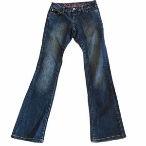 Forever 21 size 3 jeans low rise bootcut